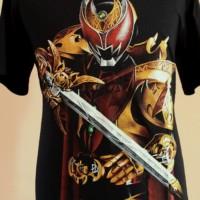 Jual kaos Keren Superhero Kamen rider Kiva Emperor