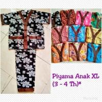 Piyama Batik Anak Uk. Xl (4 - 5 Th)**