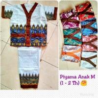 Piyama Batik Katun Anak Uk. M (2 - 3 Th)**