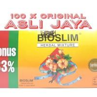 Bioslim Herbal Mixture - Tea Pelangsing & Melancarkan Buang Air Besar