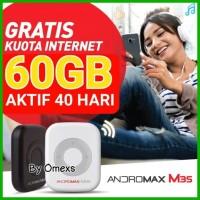 Jual Mifi Modem Wifi 4G Smartfren Andromax M3S - (Free Kuota Total 39GB) Murah
