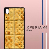 Cracker Casing Custom Cover Hardcase Hp Sony Xperia M4 Aqua Case