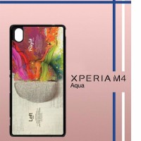Colorful Brain Casing Custom Cover Hardcase Hp Sony Xperia M4 Aqua C