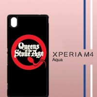 Queens Of The Stone Age Casing Custom Hp Sony Xperia M4 Aqua Case