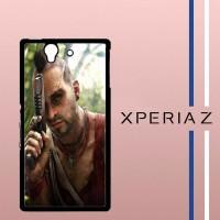 Far Cry 3 Vaas Casing Custom Cover Hardcase Hp Sony Xperia Z Case