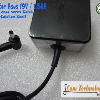 Original Adaptor Carger Laptop Asus 19V 1.75A Colokan Kecil