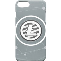 Logo Litecoin Casing HP iPhone 8 Plus/8/7 Plus/7/6s/6s Plus/5s/5/5c/4