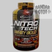 MUSCLETECH Nitrotech Whey Gold - 6 lb Muscle Nitro Tech 6lbs lbs MT