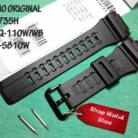 Tali Strap Jam Casio AQ-S810W - AQS 810 W - AQS810W Original Free Pen