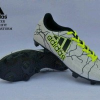 FREE BONUS!!  Sepatu Football Adidas X Techfit Men - White Yellow