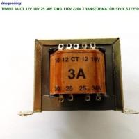 Trafo 3a Ct 12v 18v 25 30v King 110v 220v Transformator Spul Step Down