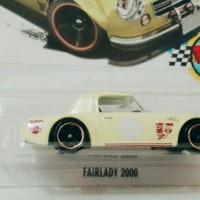 Hotwheels Fairlady 2000 Yellow - Diecast Hotwheels