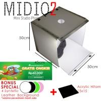 MagicBox Midio 2 Portable Mini Photo Studio Light Box 50x50x45cm