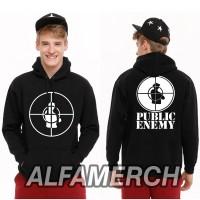 Jaket Sweater Hoodie PUBLIC ENEMY BAND ROCK METAL keren