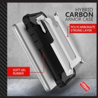 CASING CASE HP HIBRID CARBON ARMOR XIAOMI REDMI 4 PRO PRIME SOFT HARD