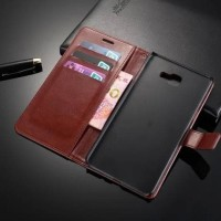 CASING CASE HP SAMSUNG GALAXY A9 PRO 2016 KULIT LEATHER KULIT FLIP