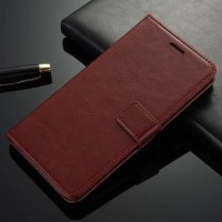 CASING CASE HP ONEPLUS 5 ONE PLUS 5 KULIT LEATHER KULIT FLIP DOMPET