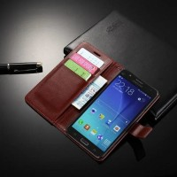 CASE CASING HP SAMSUNG GALAXY J7 CORE KULIT LEATHER KULIT FLIP DOMPET