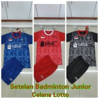 TagAll Tokopedia Setelan Baju Badminton Junior/Anak 02 Murah
