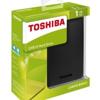 Toshiba Canvio Basic 1TB HDD HD Hardisk Harddisk External 2 5
