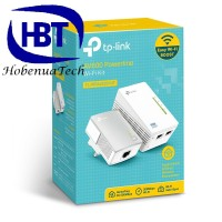 TPLINK TL-WPA4220KIT 300Mbps AV500 WiFi Powerline Extender Starter KiT