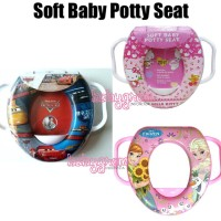 Jual Soft Baby Potty Seat / Ring Closet With Handle / Potty Trainer Anak Murah