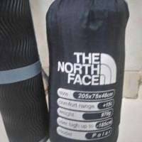 Jual Paket Sleeping Bag Polar Bulu Lafuma dan Matras Camping 3mm Merah Murah
