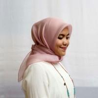 Jual Hijab Cantik Organza Satin murah sale (kerudung jilbab) Murah
