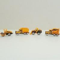 Jual mainan truck/ truk kontruksi die cast - hiasan kue - display [model A] Murah