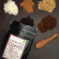 Jual Satin Cinnamon Coffee Face and Body Scrub Murah