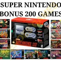 Jual Nintendo SUPER NES Classic Edition Bonus 200 Game Murah