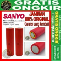 AUTHENTIC SANYO NSX UR18650NSX 2600mAh 18650 saingan sony vtc4 vtc5