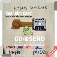 Dual Sim Card + Micro SD Slot Hybrid Sim Card | Micro To Nano Adapter