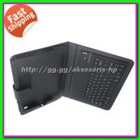 Wireless Keyboard iPad Mini Wifi iPhone Apple w/ Casing Holder Cover