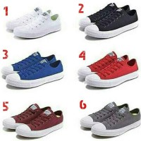 Sepatu Converse Original Import All Star Polos Cowok Cewek ( Couple )
