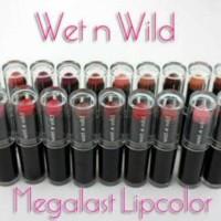 [No. 900-914] WET N WILD Mega Last Lip Color Lipstick Megalast ORI USA