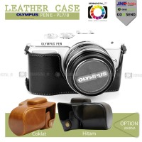 OLYMPUS PEN E-PL7/8 Leather Case/Bag/Tas Kulit Kamera/Camera Digital