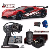 RC Mobil Remote Traxxas XO 1 1 7 the world fastest RTR RC Car 2 4Ghz