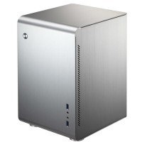 Jonsbo U2 Silver Mini ITX Case | Aluminium Computer PC Tower Casing