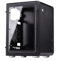 Jonsbo U2 Window Black Mini ITX Case | Aluminium Computer PC Casing