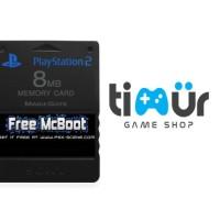 Jual Stik Game PS Murah Memory Card PS2 Free MCboot Multi