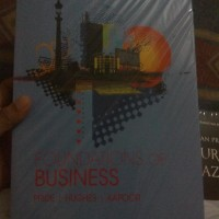 Foundations Of Business 5th By. Pride Hughes Kapoor