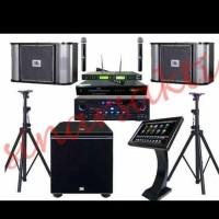 Murah Paket Sound System JBL+DVD Karaoke Geisler ( ORIGINAL )