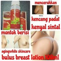 lotion bulus asli+collagen,dll mengencangkan&besarkan payudara