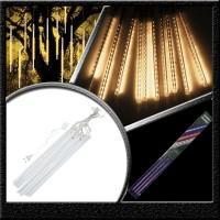 lampu led meteor tube hujan warm white 50cm 10 batang
