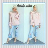 Grosir Baju Atasan Muslim Wanita Hijab Murah dan Terbaru / Hana Top