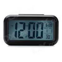 Jam Meja Digital - Digital Desktop Smart Clock - JP9901 - Hitam