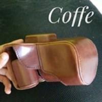 Leather Case XT1 Fuji Fujifilm Mirrorless (Coffe/Coklat Tua)
