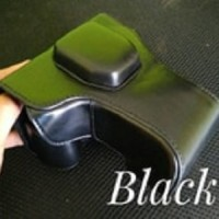 Leather Case XT1 Fuji Fujifilm Mirrorless (Black/Hitam)