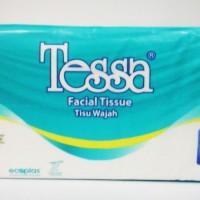 tessa facial tissue TP-02 260s x 2ply / tisu wajah tessa